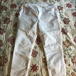 Old navy white skinny jeans size 14